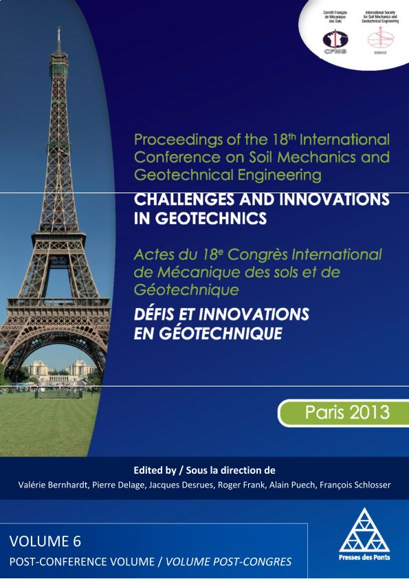 French Innovations in Geotechnics: The National Research Projects (Publication)